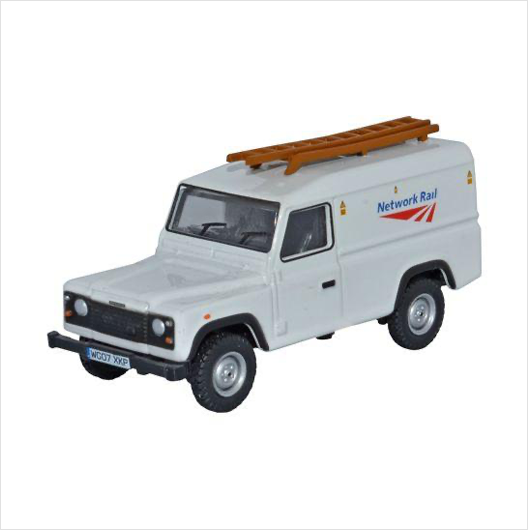 OO scale | Network Rail Land Rover Defender