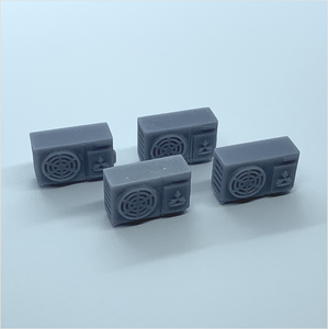 OO scale | Industrial air conditioning unit (4 pack)