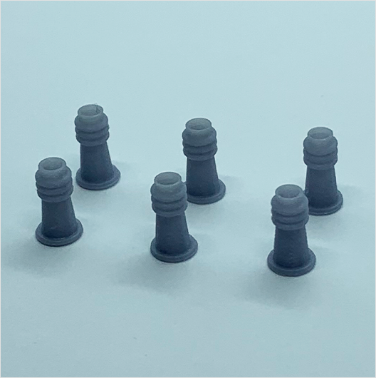 OO scale | Chimney pot - type 2 (6 pack)