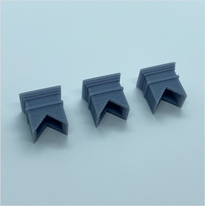 OO scale | Chimney stack - type 1 (3 pack)