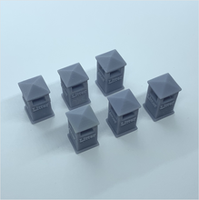 Load image into Gallery viewer, OO scale | Civic litter bin - type 1 (6 pack)
