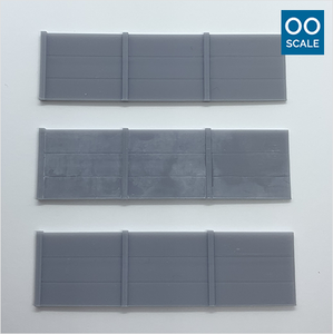 OO scale | Concrete barrier (3 pack)