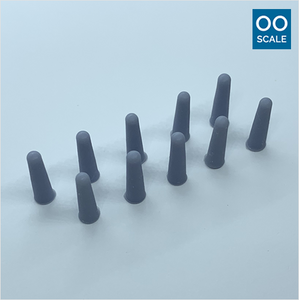 OO scale | Concrete bollard (10 pack)