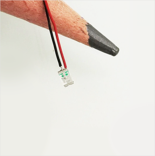 Micro LEDs with 8-12V resistors (5 pack)