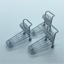 Load image into Gallery viewer, O scale | Passenger luggage trolley (3 pack)