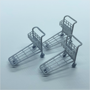O scale | Passenger luggage trolley (3 pack)