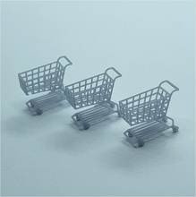 Load image into Gallery viewer, OO scale | Shopping trolley (3 pack)