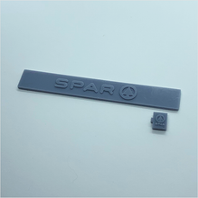 Load image into Gallery viewer, OO scale | SPAR shop sign (2 piece)