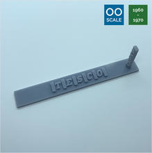 Load image into Gallery viewer, OO scale | 1960 Tesco sign (2 piece)