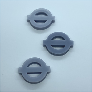 OO scale | Transport for London logo (3 pack)
