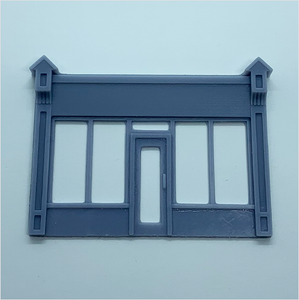 OO scale | Victorian shopfront - type 1 (1 piece)
