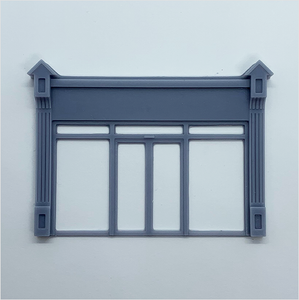 OO scale | Victorian shopfront - type 4 (1 piece)