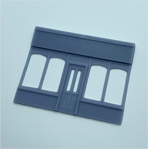 OO scale | Victorian shopfront - parade - type 3 (1 piece)