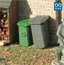Load image into Gallery viewer, OO scale | Wheelie bin (10 pack)