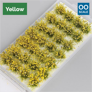 OO scale | Flower patches (28 pack)