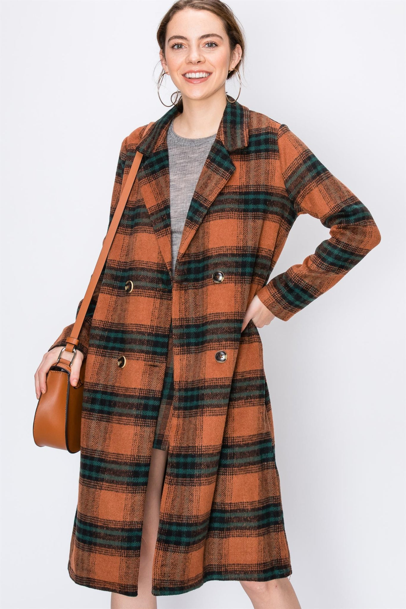 Coat, Classic, Vintage, Blazer, Jacket, Fall Outfit, Casual Wear, Fashion, Botton Down Coat, Outer Wear, Winter Outfit, Fashionable Outfit, Plaid