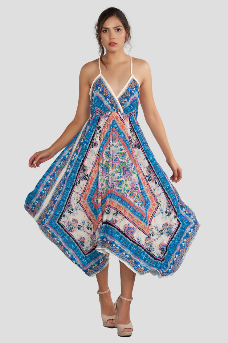 Maxi, Maxi Dress, Casual, Spring Dress, Sun Dress, Summer Dress, Floral Dress, Spaghetti Dress, Beach Dress, Cover Up, Beach Outfit, Handkerchief Dress