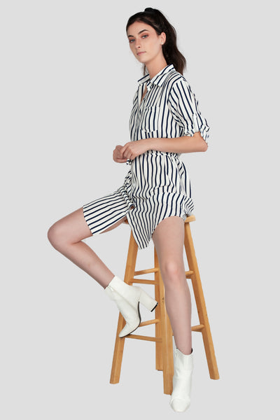 Stripe Top, Polo Dress, Casual, Top, Tank, Top with Belt, Botton Down Shirt