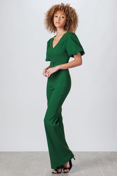 Vintage Style Jumpsuit, V Neck Jumpsuit, Green, Outfit, Costume Gold Outfit, Army Style Outfit, Fall Outfit, Long sleeve, Jumpsuit, Clay, Fashionable Outfit, Casual Jumpsuit, Club Wear, Party Outfit, Wedding, Dinner Outfit