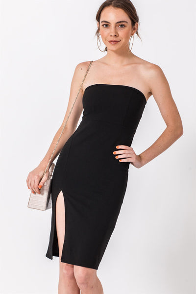 Dress, Tube Dress, Party Dress, Club Dress, Cocktail Dress, Slit Dress, Black Dress, Wedding Dress, Dinner Dress, Corporate Dress, Formal Dress