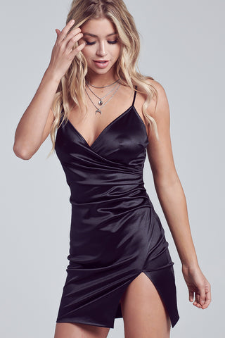 Satin Dress, Silky Dress, Side Slit Dress, Spaghetti Dress., Blue Dress, Bodycon Dress,Dress, Tube Dress, Party Dress, Club Dress, Cocktail Dress, Slit Dress, Black Dress, Wedding Dress, Dinner Dress, Corporate Dress, Formal Dress, Mini Dress