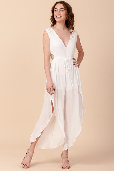 Perfect Dream Sleeveless Jumpsuit