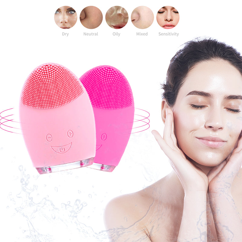 face cleansing brush Beauty