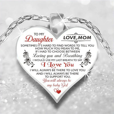 daughter Love Necklace