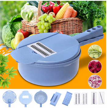9 In 1 Kitchen Mandoline Slicer Julienne Slicer Vegetable Cutter