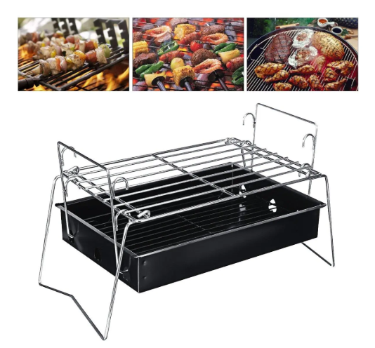 Outdoor Portable Folding BBQ Charcoal Grill
