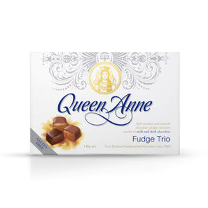 Load image into Gallery viewer, Milk and Dark chocolate Fudge Trio 140g