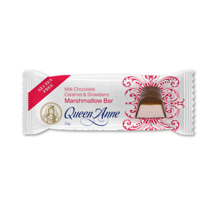Milk Chocolate Caramel & Strawberry Marshmallow Bar 55g