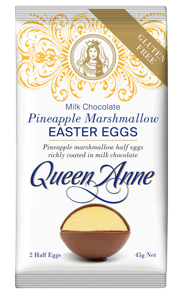 Load image into Gallery viewer, Milk Chocolate Single Serve Pineapple Marshmallow Egg 45g