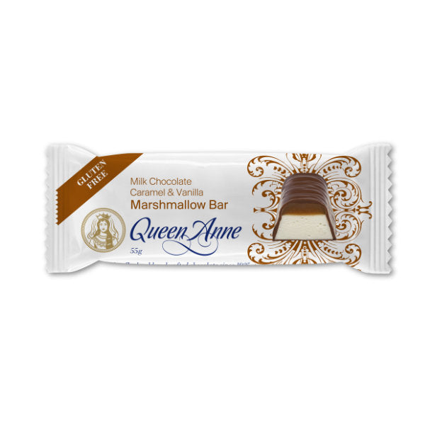Load image into Gallery viewer, Milk Chocolate Caramel & Marshmallow Bar 55g