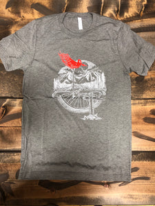 Trail Threads Flaming Ckicken Tee
