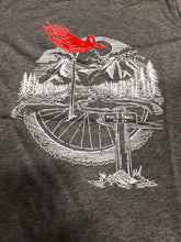 Load image into Gallery viewer, Trail Threads Flaming Ckicken Tee