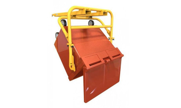 Easy Bin Handling using Forklift Attachments