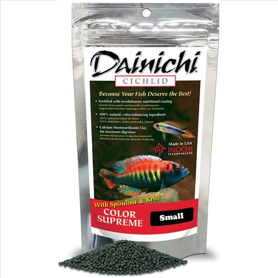Dainichi Cichlid Colour Supreme Small Sinking Pellet 500g (3mm)