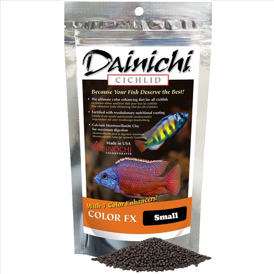 Dainichi Cichlid Colour FX Sinking Small Pellet 500g (3mm)