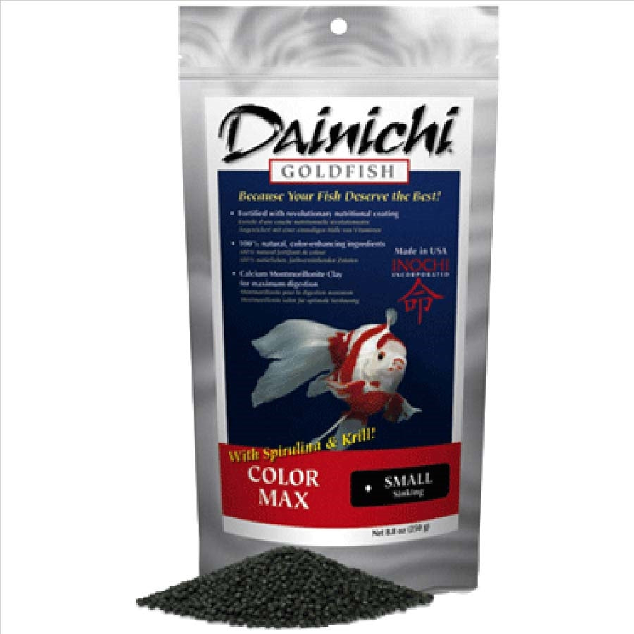 Dainichi Goldfish Colour Max Small Sinking Pellet 250g (3mm)
