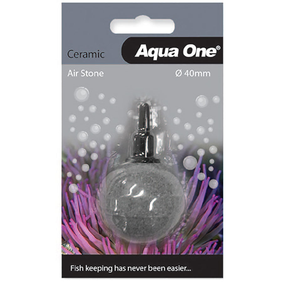 Aqua One 4cm Round Ball Ceramic Air Stone