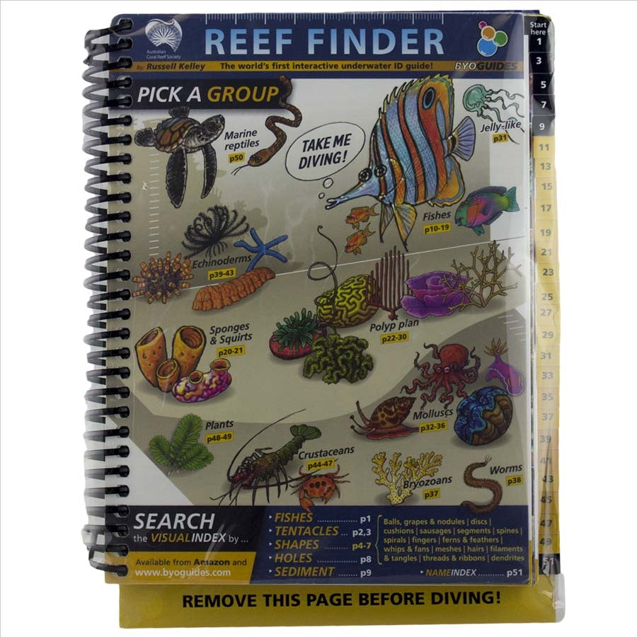 Reef Finder Book - Indo Pacific