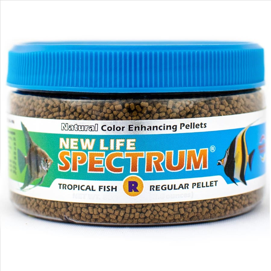 New Life Spectrum Regular Tropical Fish Diet 80g - Sinking Pellet 1-1.5mm