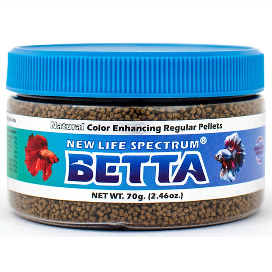 New Life Spectrum Betta Regular Formula 70g - Semi Floating 1-1.5mm