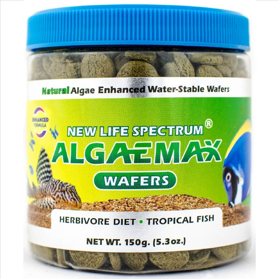 New Life Spectrum AlgaeMax Wafer 150g - 12-12.5mm Algae max