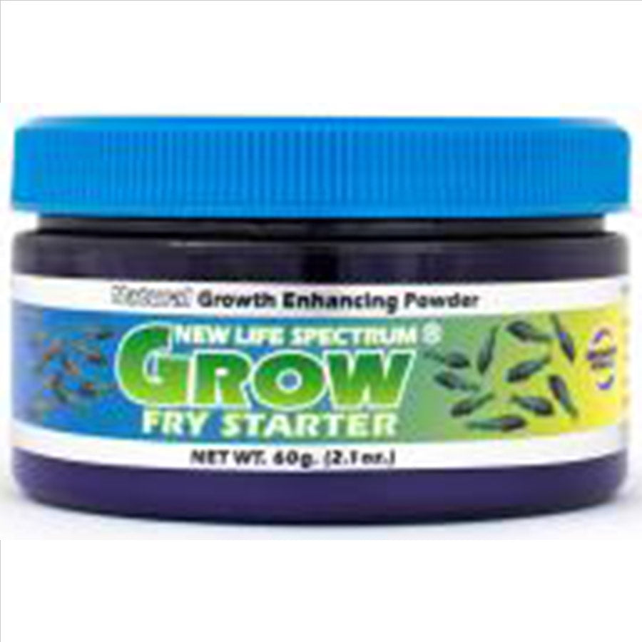 New Life Spectrum Grow Fry Starter Powder 60g - 200-300 micron