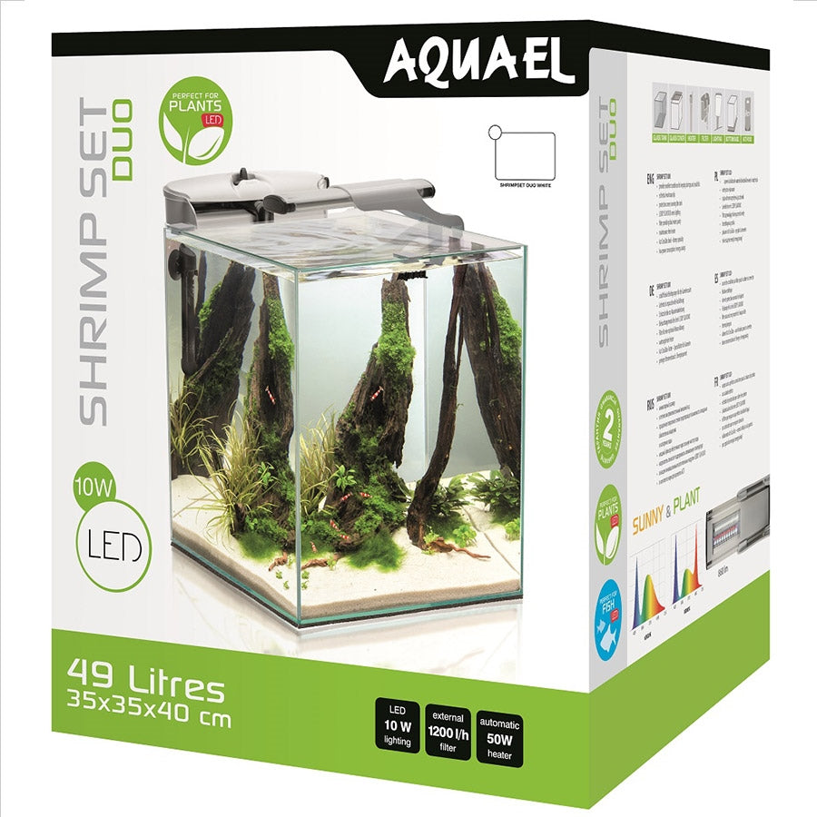 Aquael Shrimp Set 35 White Duo - In Store Pick Up Only