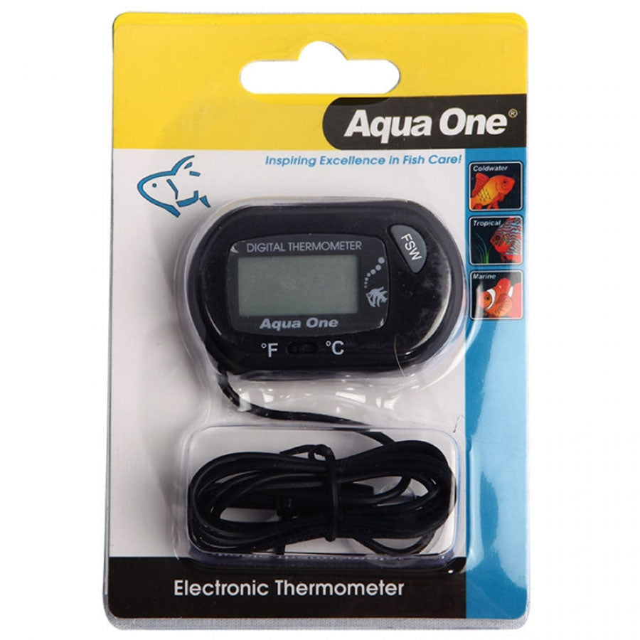 Aqua One LCD Electronic Thermometer