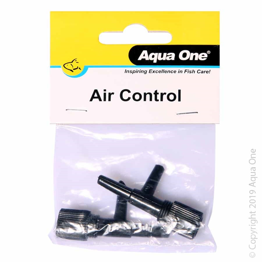 Aqua One Airline Air Control Valve - Two Pack