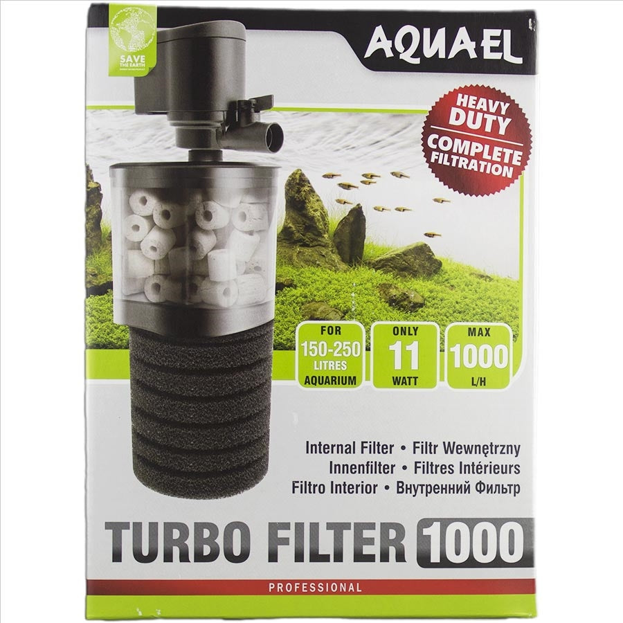 Aquael Internal Turbo Filter 1000lph